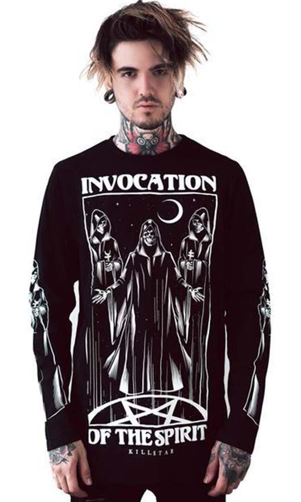 Invocation | LONG SLEEVE TOP MENS*