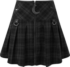 Kristen Pleated [Tartan] | SKIRT