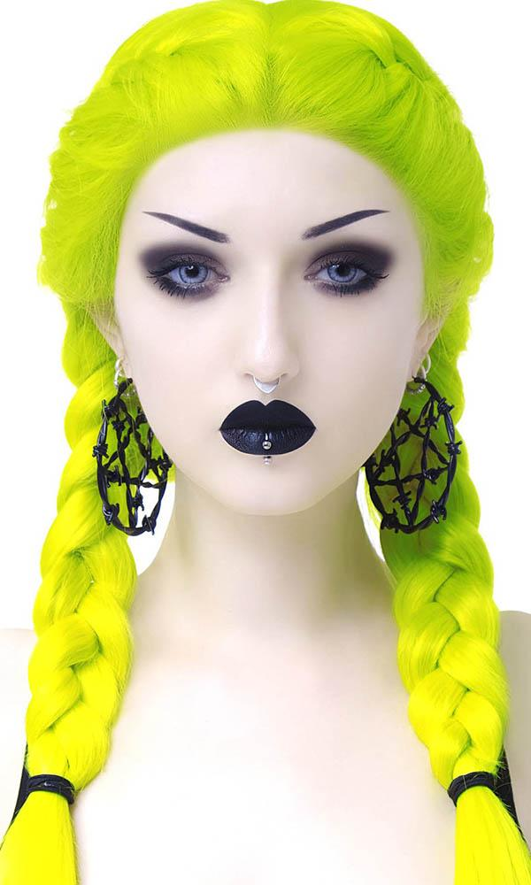 Life's A Witch [Black] | LARGE HOOP EARRINGS