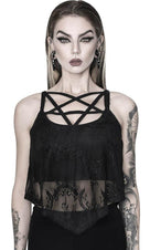 Midnight Sun | LACE VEST