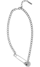 Noir [Silver] | NECKLACE
