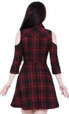 Paranormal [Tartan] | SHIRT DRESS