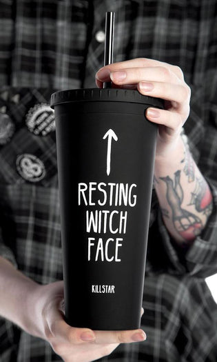 Resting Witch Face | COLD BREW CUP