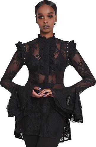 She's Wicked | LACE BLOUSE