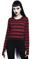 Stacy Layering [Black/Blood] | TOP