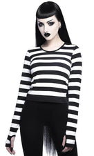 Stacy Layering [Black/White] | TOP