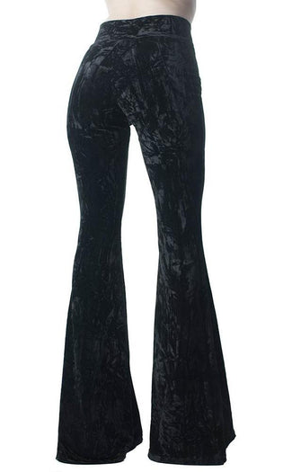 Wisteria [Black] | BELL BOTTOMS