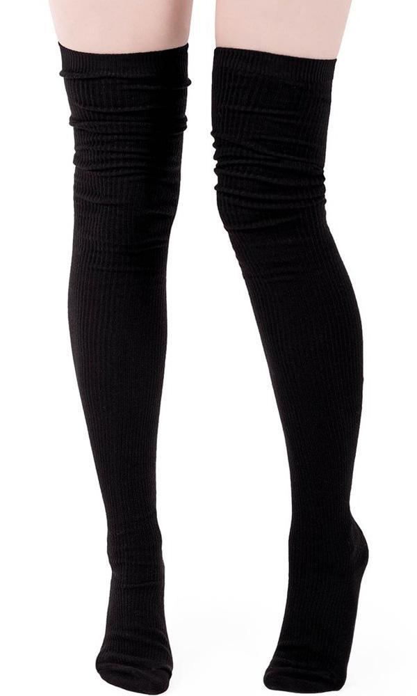 67b09d292ae30 Killstar - Zoey Long Socks - Buy Online Australia – Beserk