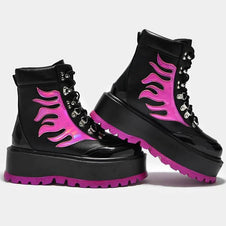 Helios Hologram Flame [Black/Pink] | BOOTS