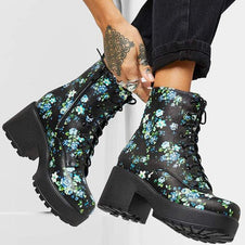 IRIS Floral Military | BOOTS