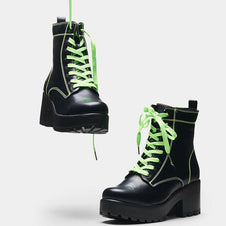 Kitana Green Laced | BOOTS