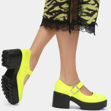 Tira [Neon Lime] | MARY JANES*