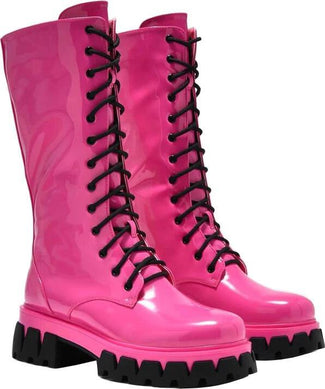 Trinity [Pink] | KNEE HIGH BOOTS
