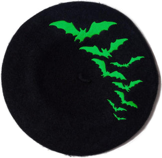 Bat Repeat [Green] | BERET HAT