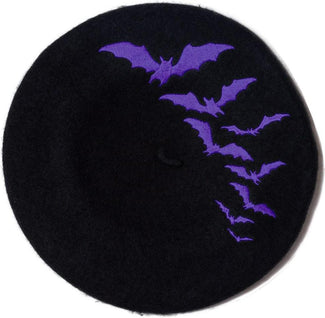 Bat Repeat [Purple] | BERET HAT