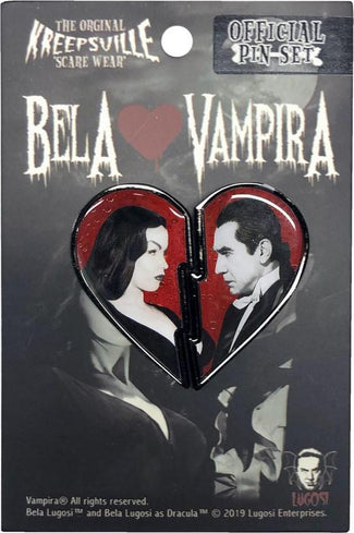 Bela Loves Vampira Broken Heart | PIN SET