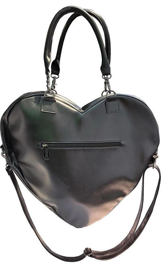 Elvira Black Heart Web | PURSE BAG