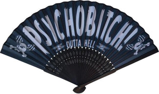 Horrorpops Psycho Bitch | HAND FAN