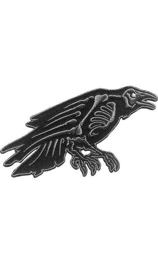 Skelli Bones Raven | PATCH