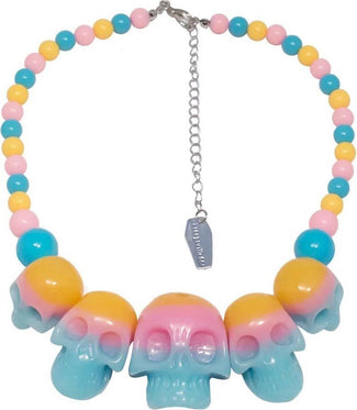 Skull Collection Rainbow | NECKLACE