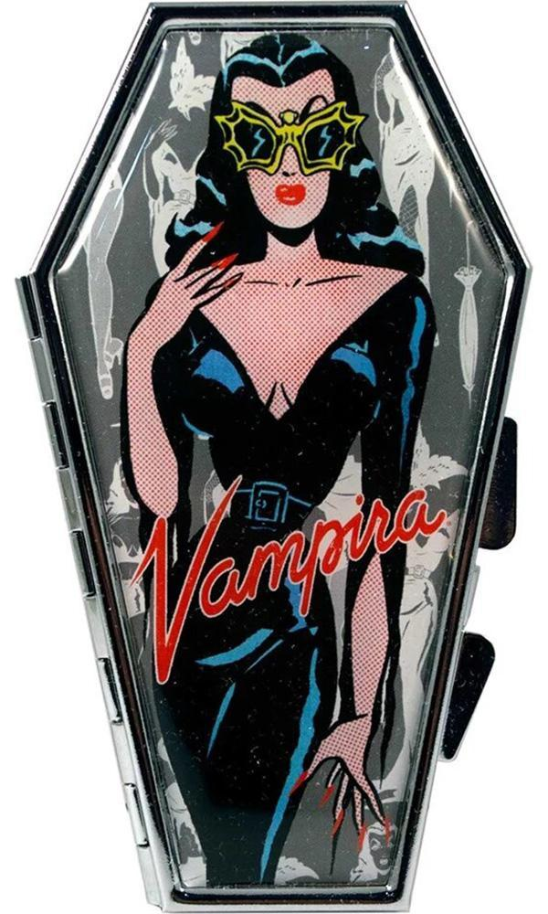 Vampira Comic Ghoul Coffin | COMPACT MIRROR