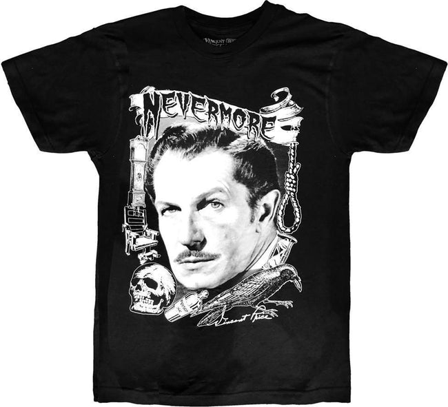 Vincent Price Nevermore | T-SHIRT