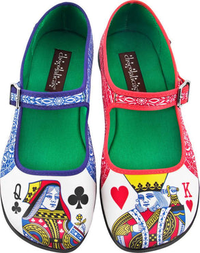 Lady Poker | FLATS [IN STOCK]