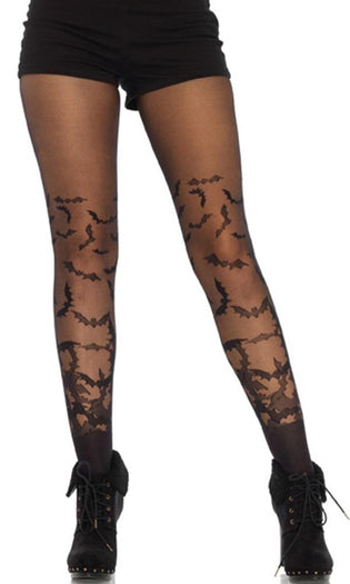 Bat Wing Sheer | TIGHTS