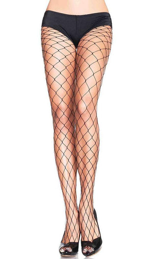 Fence Net [Black] | PANTYHOSE