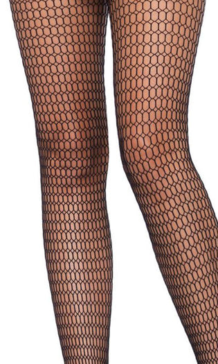 Honeycomb Net [Black] | TIGHTS