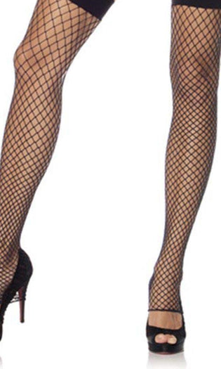 Industrial Net Footless | THIGH HIGH