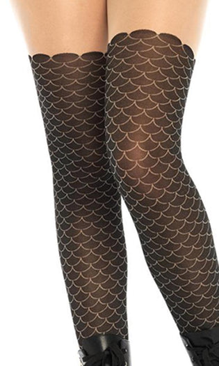 Mermaid Scale Opaque | TIGHTS