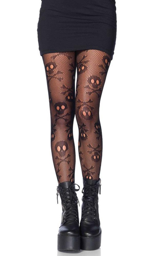 Pirate Booty Skull Net | PANTYHOSE