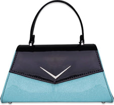 Chevron Blue | PURSE