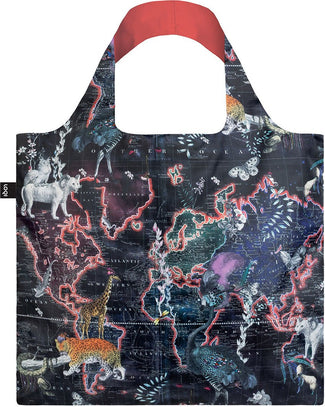 World Map | SHOPPING BAG