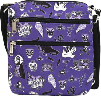 Disney Villains [Purple] | PASSPORT BAG