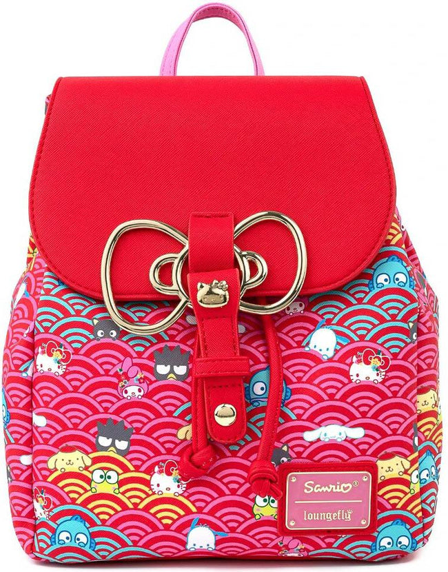 Sanrio | 60th Anniversary Gold Bow MINI BACKPACK