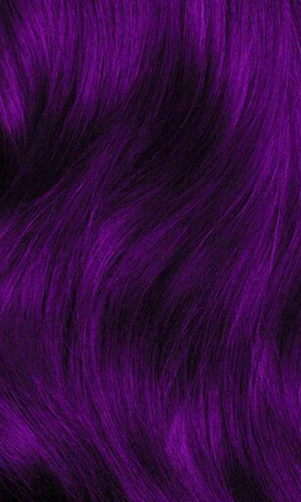Plum Purple Hair Dye