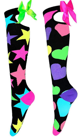 Blink Glitter | KNEE HIGH SOCKS