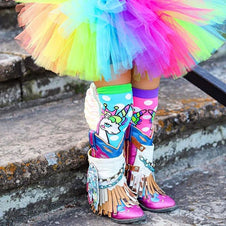 Flying Unicorn With Wings | KNEE HIGH SOCKS