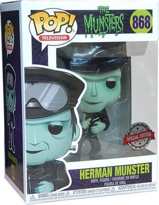 Munsters | Herman Biker POP! VINYL