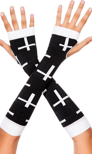 Cross Design | ARM WARMERS