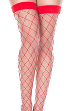 Red Spandex Fence Net | THIGH HIGH
