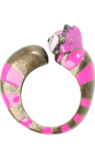 Alice In Wonderland | Cheshire Cat Swivel RING
