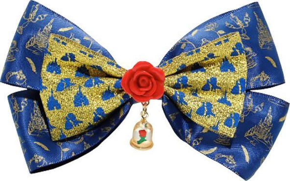 Beauty & The Beast | Enchanted ROSE HAIR BOW