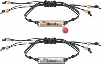 Beauty & The Beast | His And Hers BRACELET SET