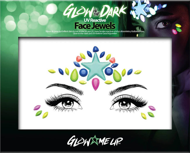 Glow in the Dark [Style 1] | FACE JEWELS