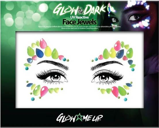 Glow in the Dark [Style 2] | FACE JEWELS