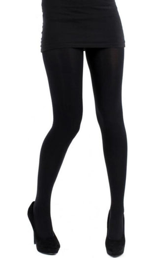 120 Denier 3D Opaque [Black] | TIGHTS
