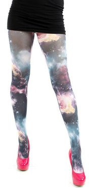 Galactic Sky Printed | TIGHTS